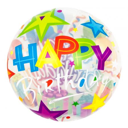 Helium balloons Happy Birthday To You