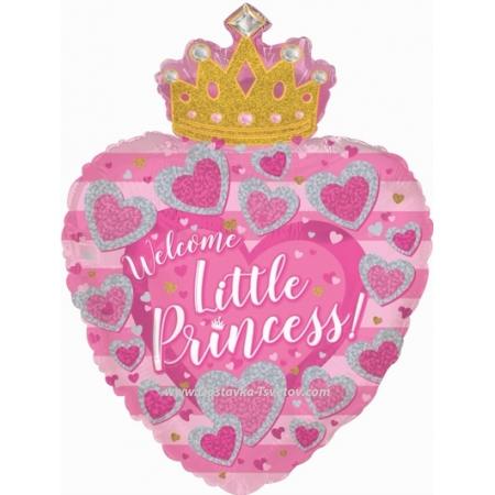 Гелиевые шары Гелиевый шар «С Днём Рождения Принцесса»