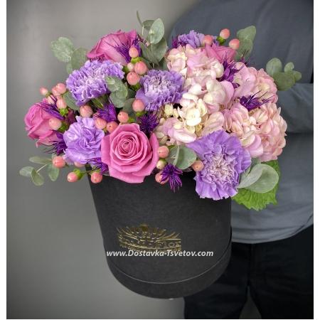 "Цветы в коробке ""Амелия"""