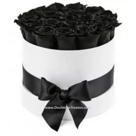 """Чёрные розы """"Кофе С Молоком"""""""