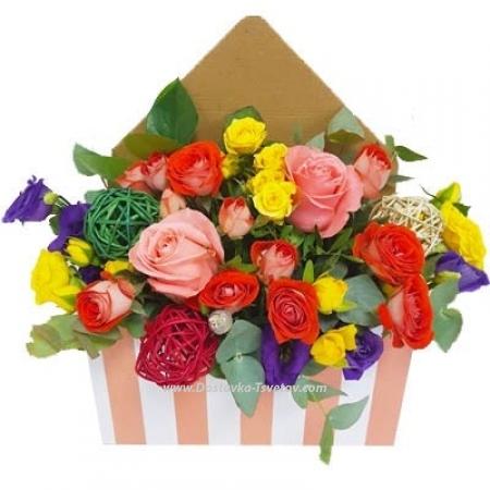 """Яркие цветы """"Летний Бриз"""""""