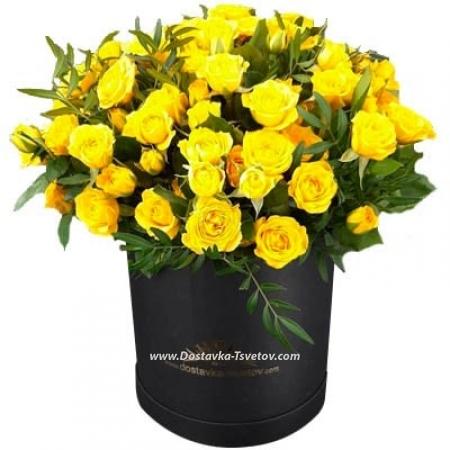 """Желтые розы """"Бриджит"""""""
