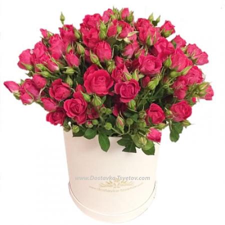 "Коробка кустовых роз ""Мелодия"""