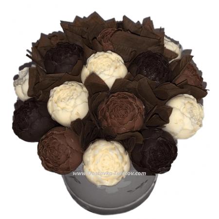 Шоколадные Пионы