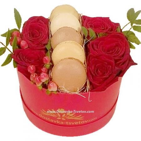 """Розы и пирожные """"Реликвия"""""""