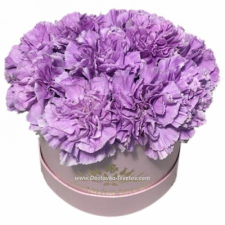 """В коробке Фиолетовые цветы """"Адамантин"""""""