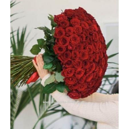 "101 Роза ""Реальная Любовь"""