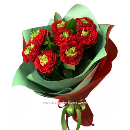 """Букет роз """"Красный бархат"""""""