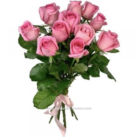 """Букетик розовых роз """"Шарм"""""""