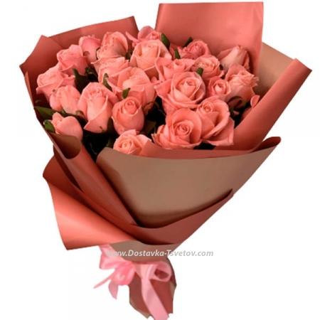 """Розы Нежно-розовые розы """"Эмили"""""""