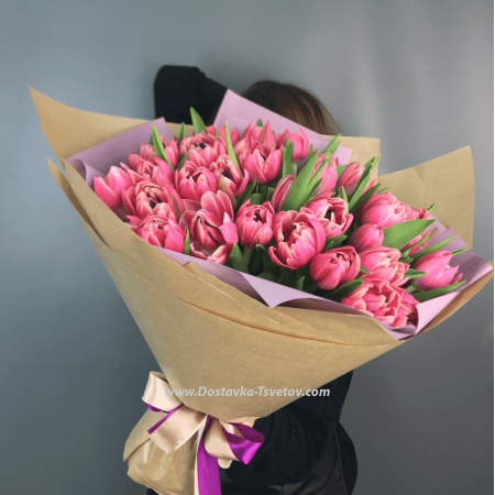 """Пионовидные тюльпаны """"Задор"""""""