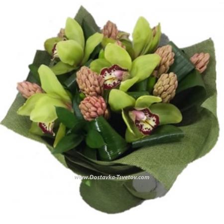 """Орхидея и гиацинт """"Зелёный Бор"""""""
