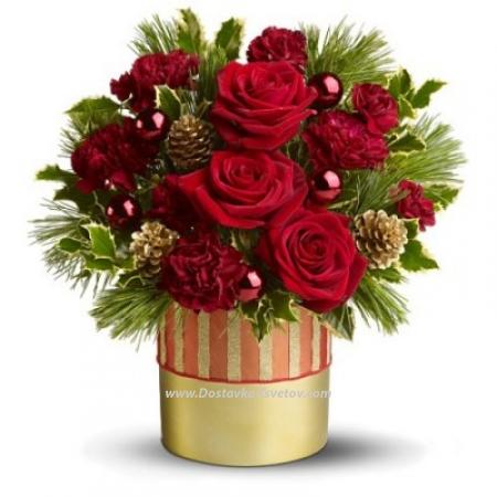 "Коробка цветов ""Страна Чудес"""