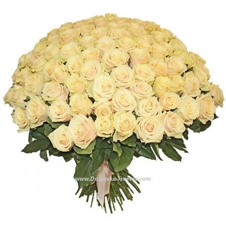 """Кремовые розы """"Джанго"""""""