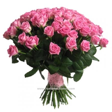 """Розовые розы """"Вишнёвый Джем"""""""