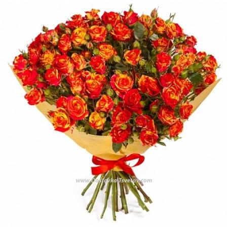 "Roses Яркий букет ""Барселона"""