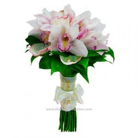 """Орхидеи для невесты """"Стрекоза"""""""