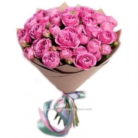"""Кустовые розы """"Оптимизм"""""""