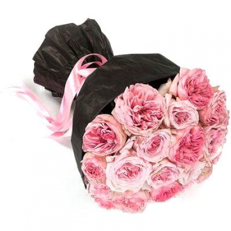 """Розовые розы """"Изысканность"""""""