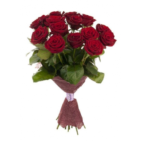 """Красные розы """"Зимняя Вишня"""""""