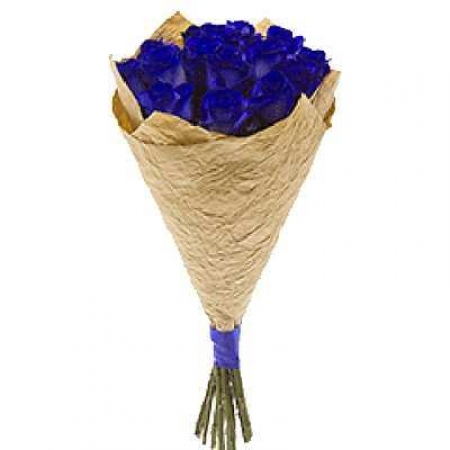 "Букет 7 роз ""Синее море"""