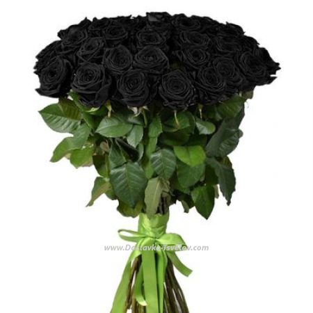 """Букет роз """"Чёрный Кот"""""""