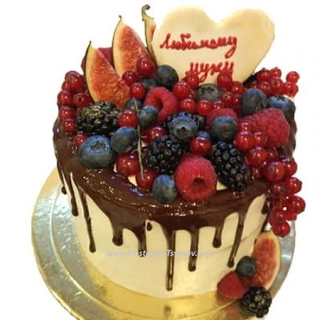 """Авторский торт """"Лесной"""""""