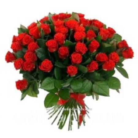 """Букет из 51 розы """"Лоли"""""""