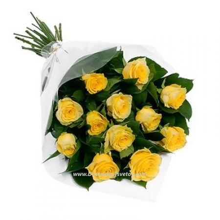 """Жёлтые розы """"Сфинкс"""""""