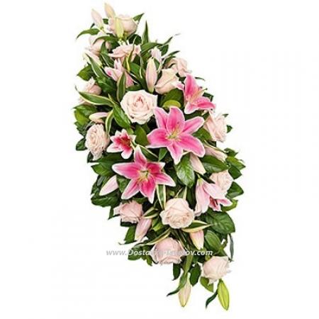 """Розы и лилии """"Виниловое Лето"""""""