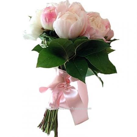 """11 розовых пионов """"Подружка"""""""