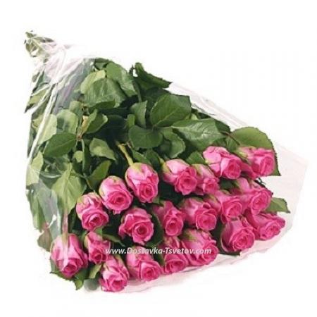 """Букет розовых роз """"Инфинити"""""""