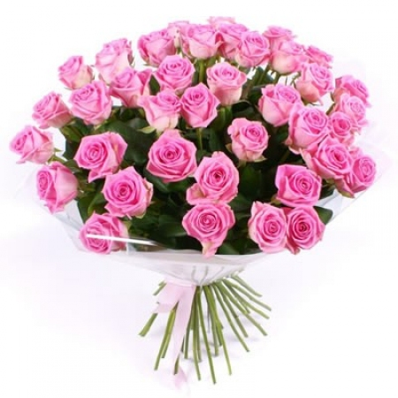 """Букет розовых роз """"Чайка"""""""