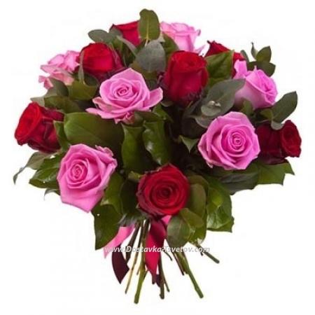 """Розы с оформлением """"Жозефина"""""""