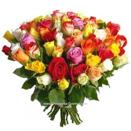"""Яркие розы """"Летний Дождь"""""""