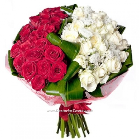 """Цветные розы """"Светская Львица"""""""