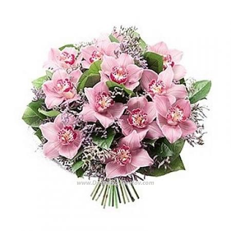 "Розовые орхидеи ""Баллада Любви"""
