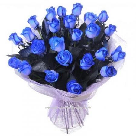 """Синие розы """"Изумрудная Ночь"""""""