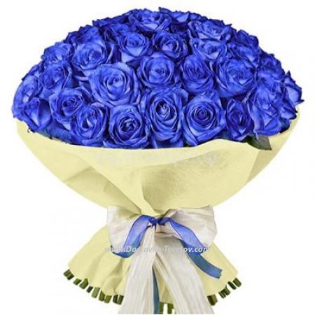 """Синяя роза """"Лаванда"""""""