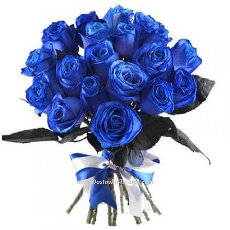 """Синие розы """"Бархатная Жизнь"""""""