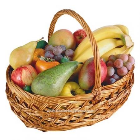 "Корзина с фруктами Корзина фруктов ""Летняя Луна"""