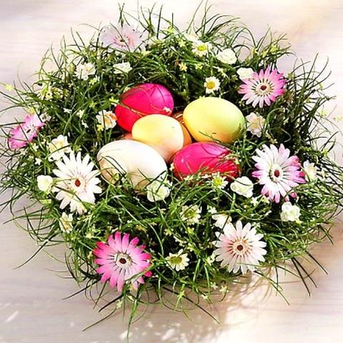 купить цветы на пасху в москве