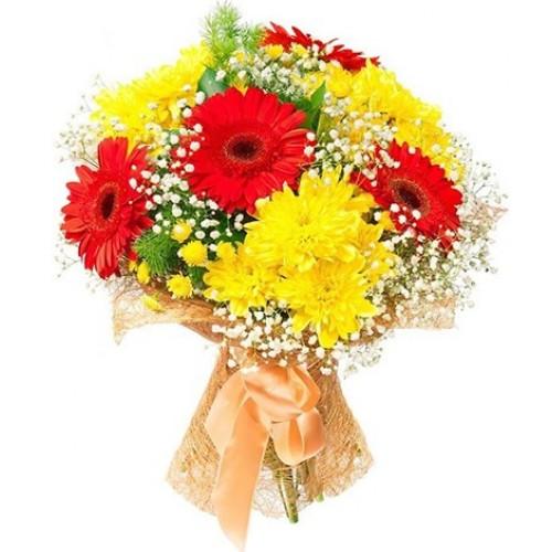 Цветы маме на день рождения