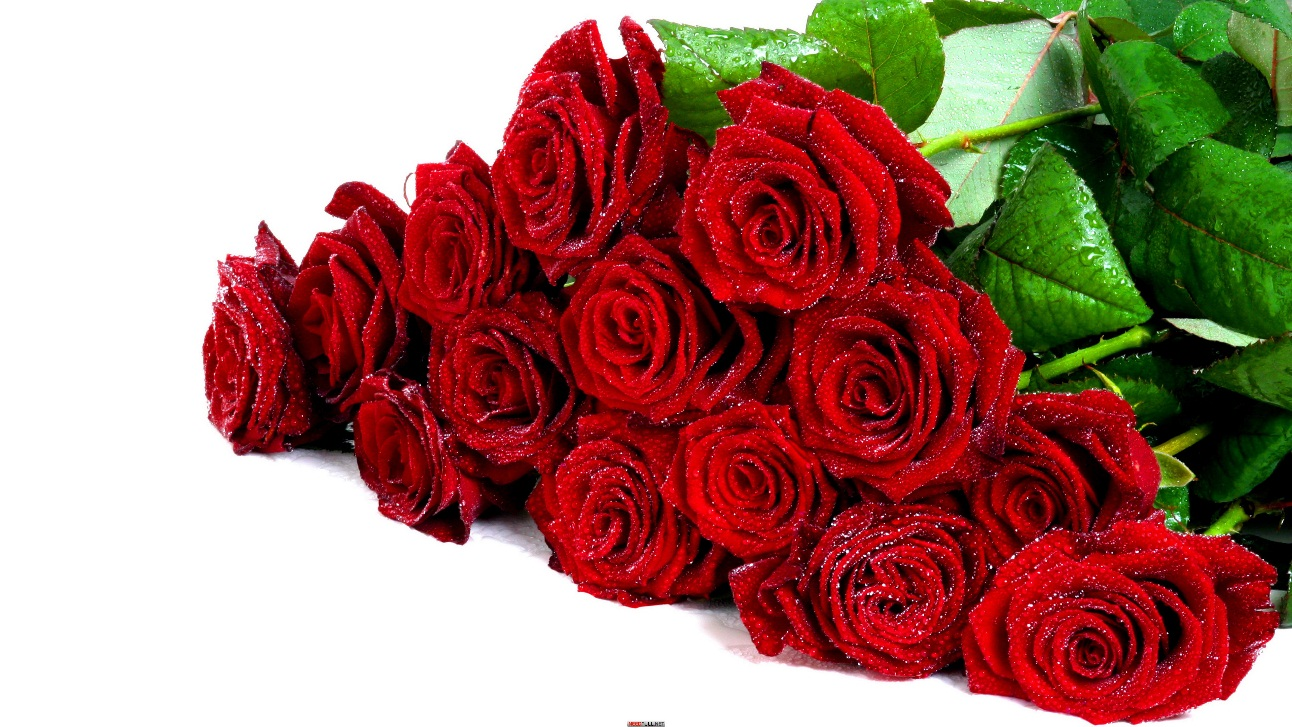 Подарок цветов для женщины