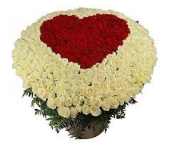букет цветов из 1001 розы